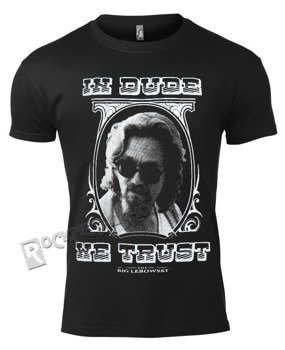 koszulka THE BIG LEBOWSKI - IN DUDE WE TRUST