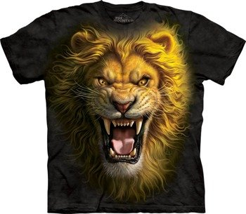 koszulka THE MOUNTAIN - ASIAN LION, barwiona