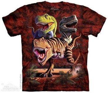 koszulka THE MOUNTAIN - REX COLLAGE, barwiona