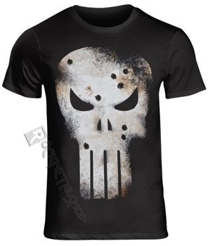 koszulka THE PUNISHER -GUNSHOT SKULL