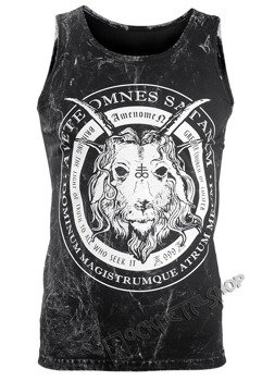 koszulka na ramiączkach AMENOMEN - CHURCH OF SATAN (OMEN053KR ALLPRINT WHITE)