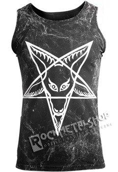 koszulka na ramiączkach AMENOMEN - PENTAGRAM (OMEN032KR ALLPRINT WHITE)