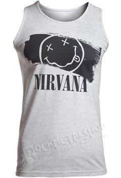 koszulka na ramiączkach NIRVANA - SMILEY PAINT
