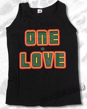 koszulka na ramiączkach ONE LOVE