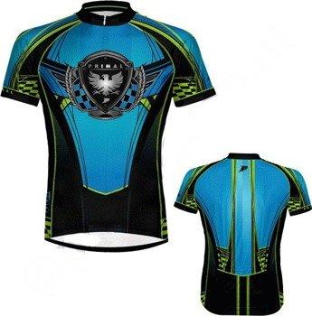koszulka rowerowa ONE BLUE (PRIMAL WEAR )