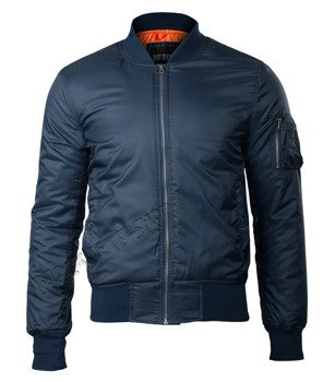 kurtka flyers BASIC BOMBER JACKET navy