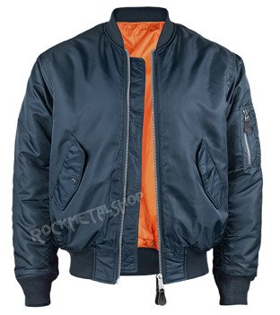 kurtka flyers MA1 JACKET dark navy