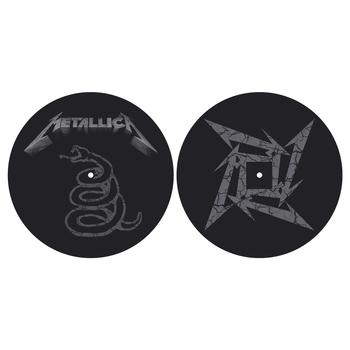 mata gramofonowa slipmata METALLICA - THE BLACK ALBUM
