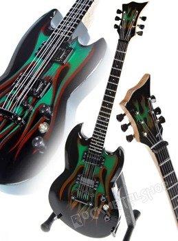 miniaturka gitary METALLICA - JAMES HETFIELD: THE GRYNCH SIGNATURE
