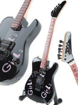 "miniaturka gitary MOTLEY CRUE: MICK MARS KRAMER ""Girls Girls"""