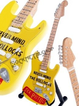 miniaturka gitary SEX PISTOLS - NEVER MIND THE BOLLOCKS