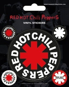 naklejki RED HOT CHILI PEPPERS - STAR