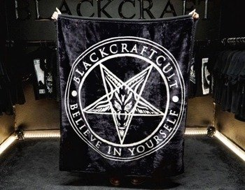 narzuta/koc BLACK CRAFT - PENTAGRAM