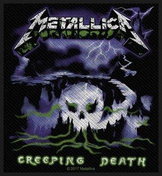 naszywka METALLICA - CREEPING DEATH