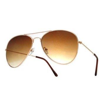 okulary przeciwsłoneczne AVIATOR GOLD