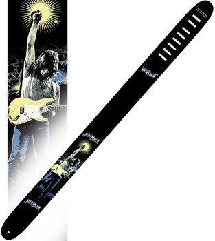 pas do gitary JEFF BECK - SILHOUETTE skórzany, 63mm