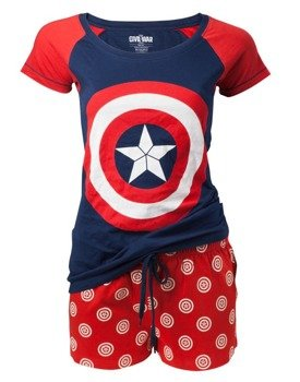 piżama CAPTAIN AMERICA - SHIELD LOGO