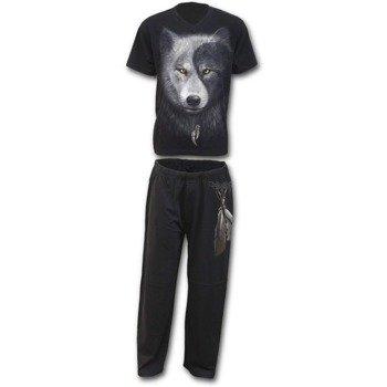 piżama SPIRAL - WOLF CHI zestaw 4-częściowy