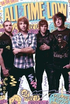 plakat ALL TIME LOW - PORTRAIT