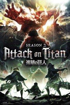 plakat ATTACK ON TITAN - SEASON 2 KEY ART