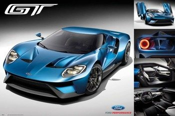 plakat FORD  - GT 2016
