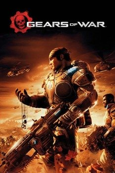 plakat GEARS OF WAR - KEY ART