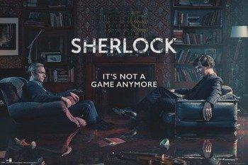 plakat SHERLOCK - RISING TIDE