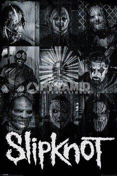 plakat SLIPKNOT - MASKS
