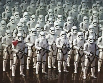 plakat STAR WARS - EPISODE VII (STORMTROOPER ARMY)