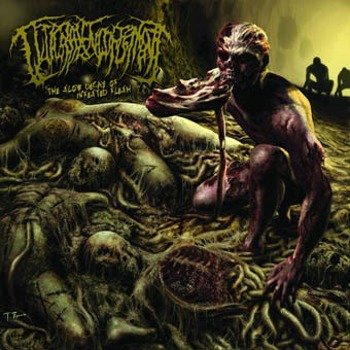 płyta CD: GUTTURAL ENGORGEMENT - THE SLOW DECAY OF INFESTED FLESH