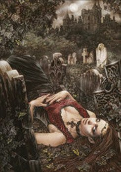 pocztówka VICTORIA FRANCES - ECHO OF DEATH