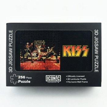 puzzle KISS - 1977 LIVE PERFORMANCE 3D, 256 szt