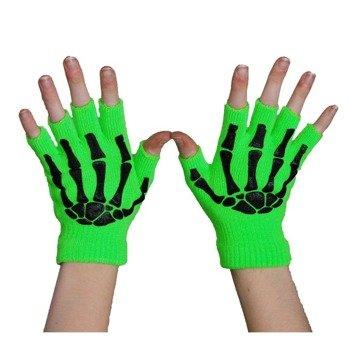 rękawiczki POIZEN INDUSTRIES - GREEN, bez palców
