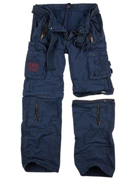 spodnie bojówki ROYAL OUTBACK TROUSER - ROYALBLUE, odpinane