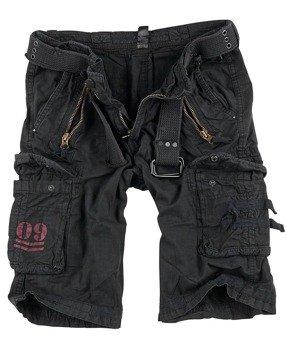 spodnie bojówki krótkie ROYAL SHORTS - ROYALBLACK