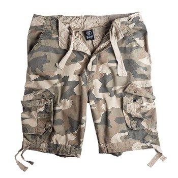 spodnie bojówki krótkie URBAN LEGEND SHORTS - LIGHT WOODLAND