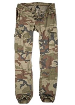 spodnie joggery BAD BOYS PANTS - 4 COLOR CAMO