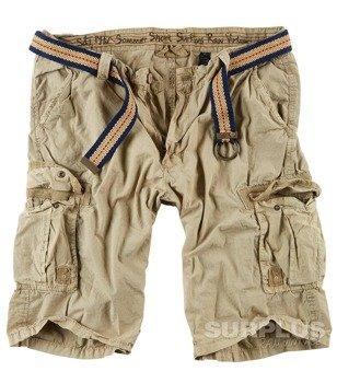 spodnie krótkie SOMMER SHORT - BEIGE