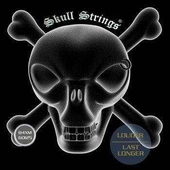 struny do gitary basowej Skull Strings BASS Line B4XM /060-125/