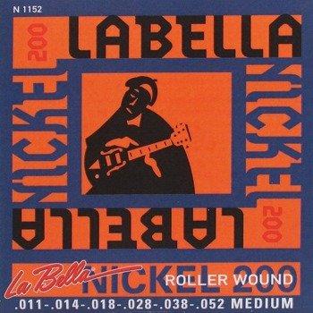 "struny do gitary elektrycznej LA BELLA N1152 ""Nickel 200"" Medium /011-052/"