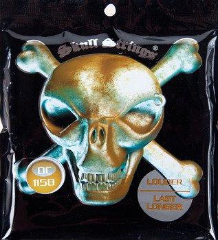 struny do gitary elektrycznej Skull Strings DROP-C Line /011-058/