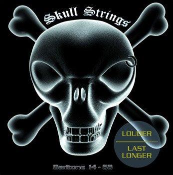 struny do gitary elektrycznej barytonowej Skull Strings BARITONE /014-068/