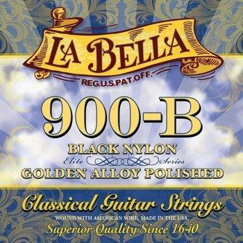 struny do gitary klasycznej LA BELLA Elite Series 900-B Golden Superior / Black Nylon