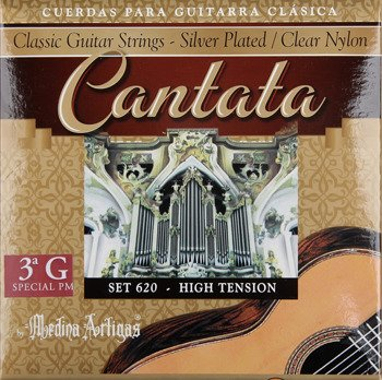 "struny do gitary klasycznej MEDINA ARTIGAS 3G ""Cantata"" Super High Tension 600"