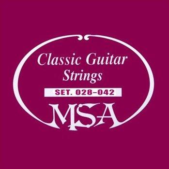 struny do gitary klasycznej MSA /028 - 042/ (SK 020)