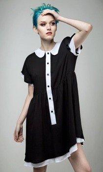sukienka DISTURBIA - HETTIE COLLARED