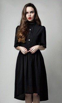 sukienka DISTURBIA - VENUS BLACK