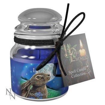 świeczka LUCK SPELL - SANDALLWOOD, zapachowa