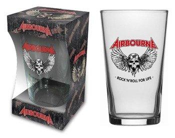 szklanka do piwa AIRBOURNE - ROCK N ROLL