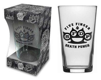 szklanka do piwa FIVE FINGER DEATH PUNCH - LOGO